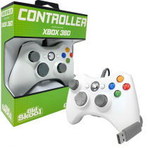 Wired USB Controller for PC & Xbox 360 - White